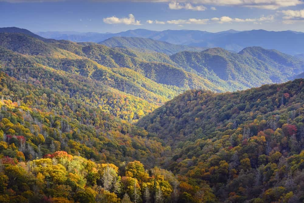 Great Smoky Mountains during autumn