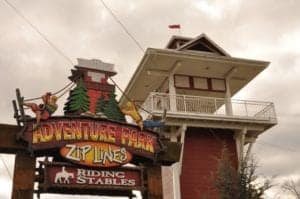 Adventure Park Zip Lines and Riding Stables.