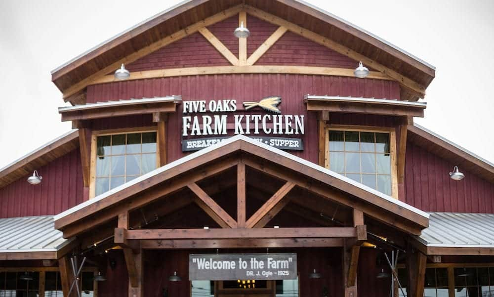 4 Best Restaurants in Pigeon Forge and Sevierville with Southern Cooking