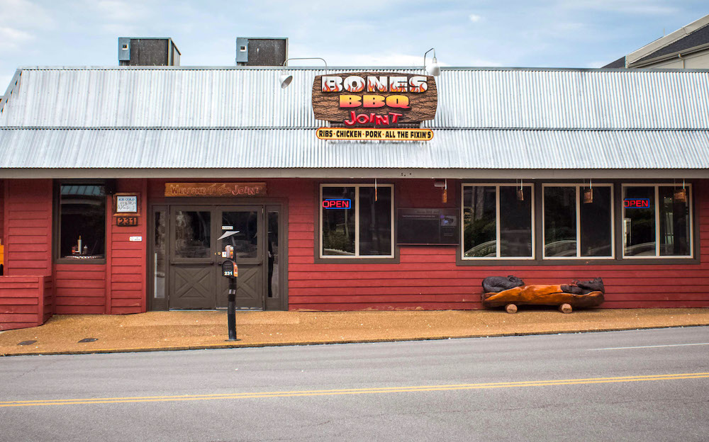 Bones BBQ Joint in Gatlinburg